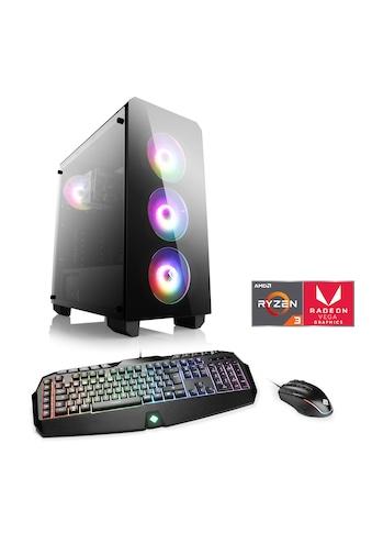 CSL Gaming-PC »Levitas T8118 Windows 10 Home«, AMD Ryzen 3 3200G | Vega 8 | 16 GB RAM | SSD kaufen