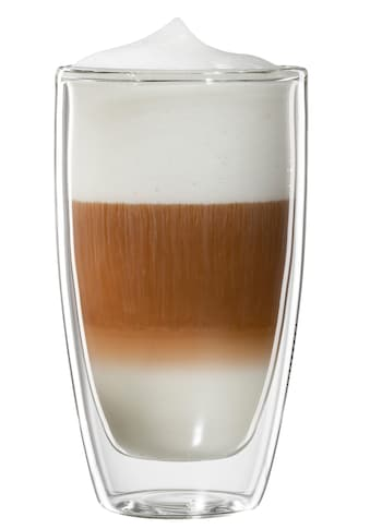 Bloomix Latte-Macchiato-Glas »Roma«, (Set, 4 tlg.), Doppelwandig, 4-teilig kaufen
