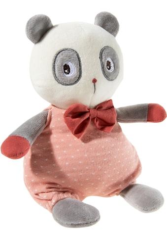 Heunec® Plüschfigur »FrohNATURen Panda Plüschi, cranberry«, GOTS organic, zertifiziert... kaufen