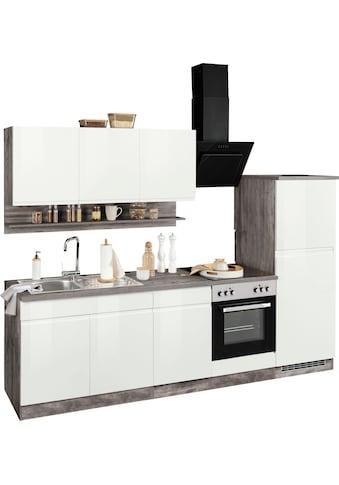 HELD MÖBEL Küchenzeile »Virginia«, ohne E-Geräte, Breite 270 cm kaufen