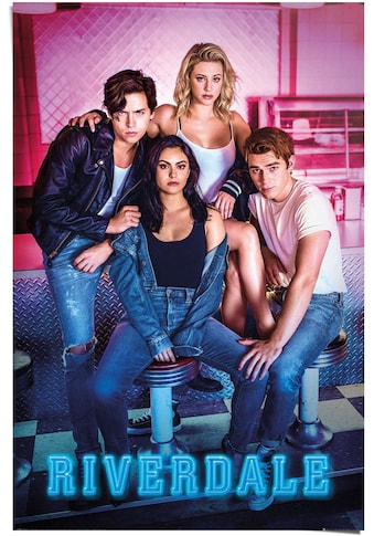 Reinders! Poster »Poster Riverdale Archie - Betty - Veronica - Jughead«, Serien, (1 St.) kaufen