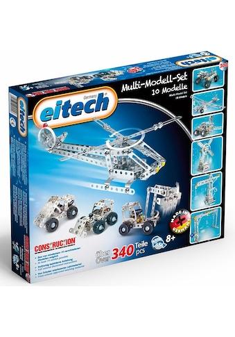 Eitech Metallbaukasten »Multi Set«, (340 St.), Made in Germany kaufen