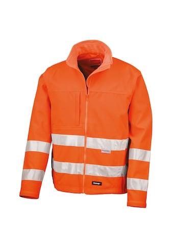 Result Softshelljacke »Core Herren Hi Vis Winter Softshell Jacke, Wasser und Wind... kaufen