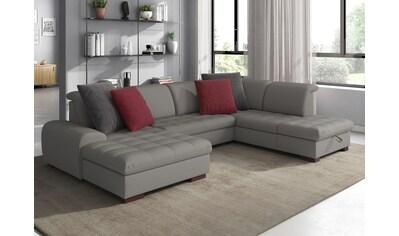 sit&more Wohnlandschaft, wahlweise mit Bettfunktion, Bettkasten und... kaufen