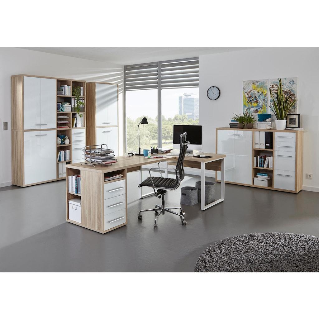 Maja Möbel Highboard »Set+ 1685«, mit optimaler Regaltiefe für Ordner