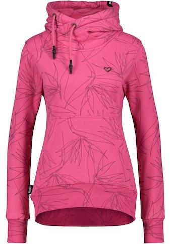 Alife & Kickin Sweatshirt »SarahAK«, Longsweater mit Kapuze& Kontrast-Details kaufen
