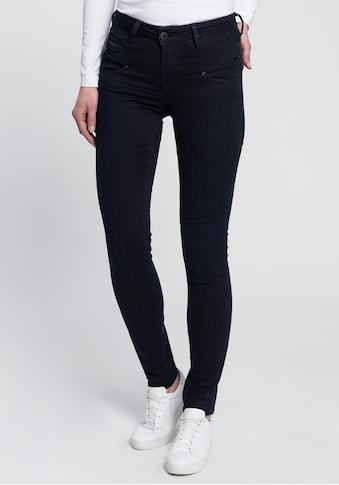 Freeman T. Porter High-waist-Jeans »ALEXA Waist«, mit Glanznieten und Glitzersteinen kaufen