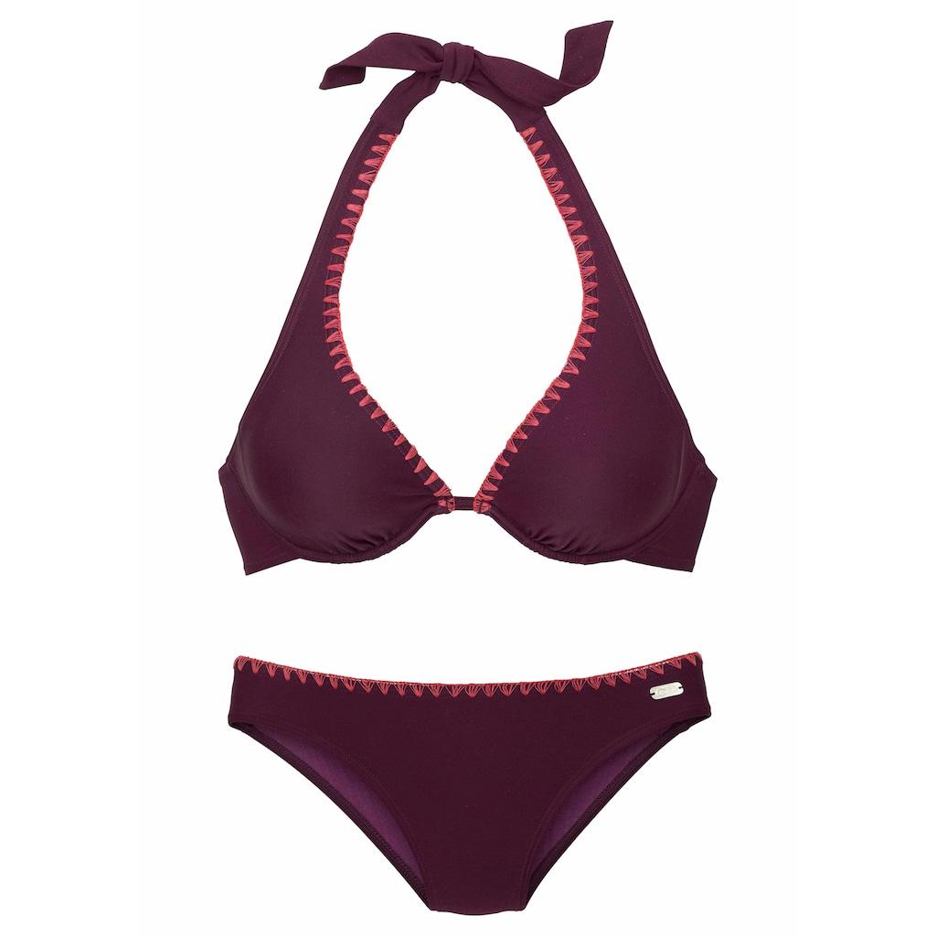 Buffalo Bügel-Bikini, mit Häkelkante