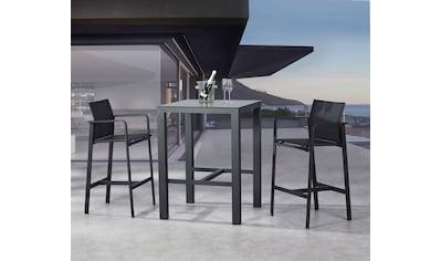 BEST Gartenmöbelset »Rhodos«, 2 Sessel, Tisch 80x80 cm kaufen