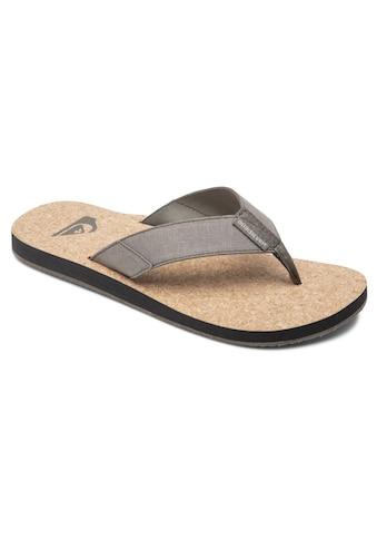 Quiksilver Sandale »Molokai Abyss Natural« kaufen