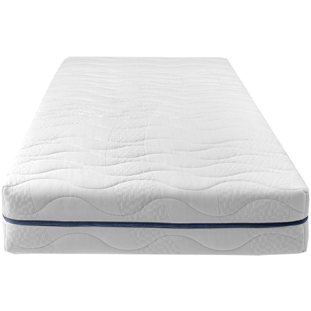 Breckle Komfortschaummatratze »EvoX 23«, 23 cm cm hoch, Raumgewicht: 28 kg/m³, (1 St.), neuartiger, langlebiger Qualitätsschaum EvoX mit Kernschnitt, der die Wirbelsäule entlasten kann, für einen erholsamen Schlaf