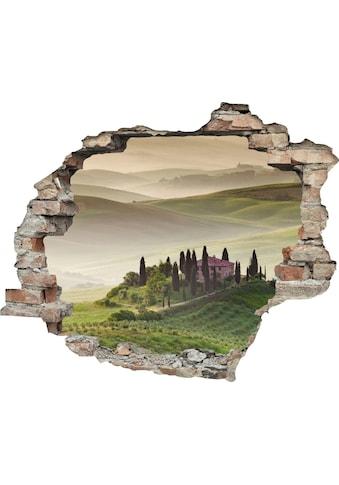 queence Wandtattoo »Hügellandschaft« kaufen