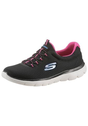 Skechers Slip-On Sneaker »Summits«, mit Gummizug kaufen