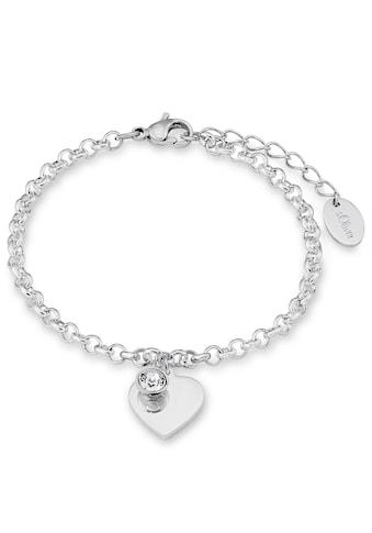 s.Oliver Armband »9023998, Herz«, mit Zirkonia kaufen