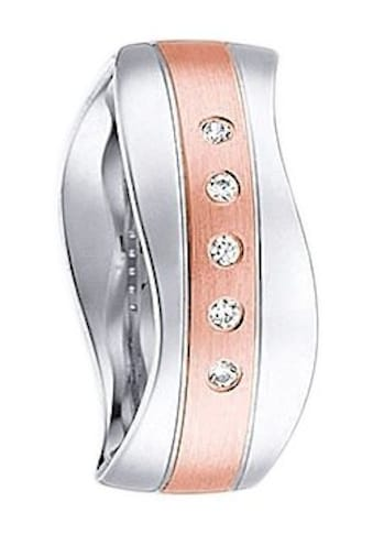 Firetti Trauring mit Gravur »glanz, längs gebürstet, Diamantschnitt, Wellenform, 7,0... kaufen