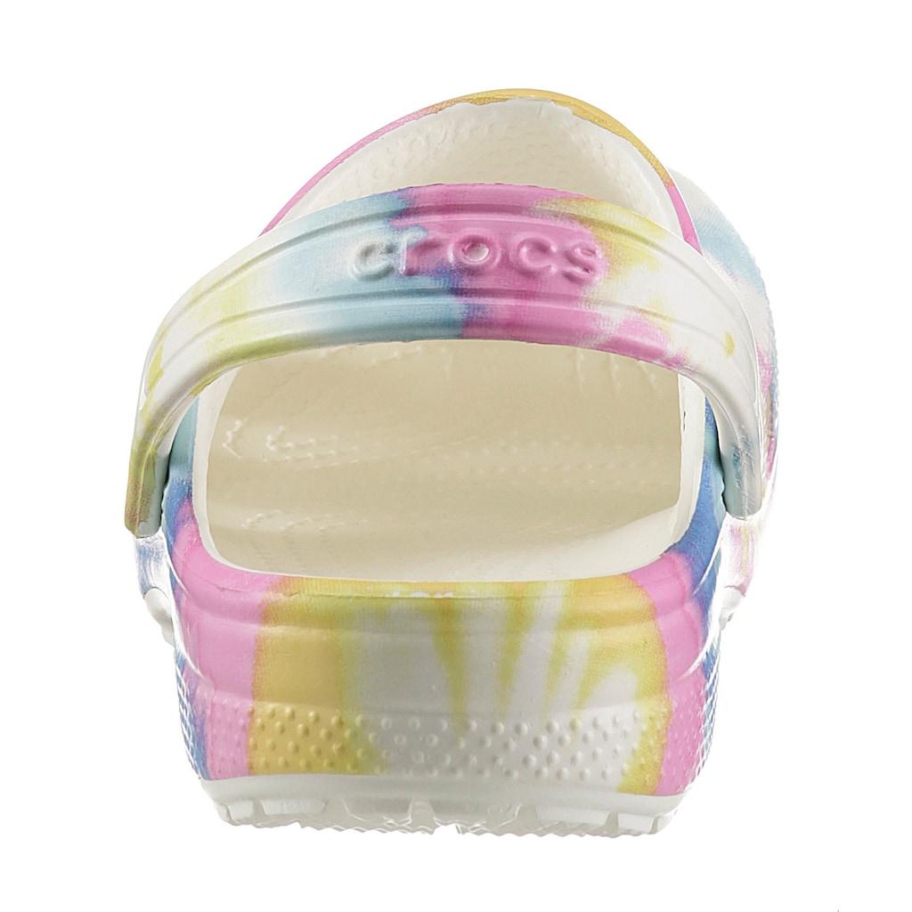 Crocs Clog »Classic Tie Dye Graphic«, mit coolem Batik-Muster