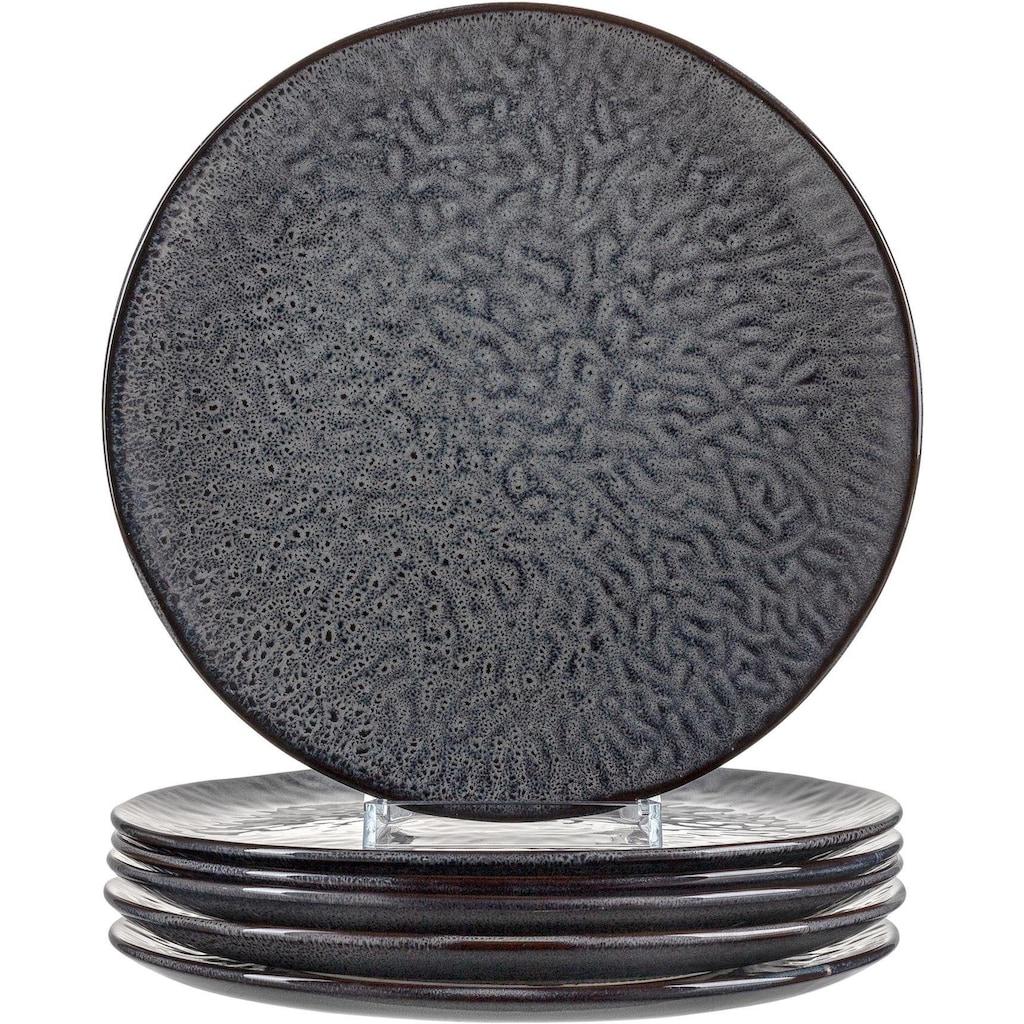 LEONARDO Speiseteller »Matera«, (Set, 6 St.), Keramik, Ø 27 cm