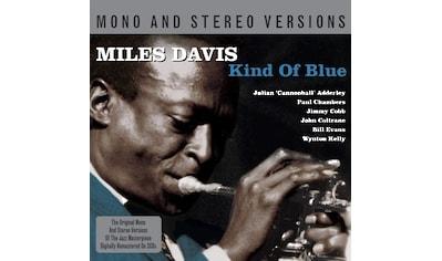 Musik-CD »Kind Of Blue Mono/Stereo / Davis,Miles« kaufen