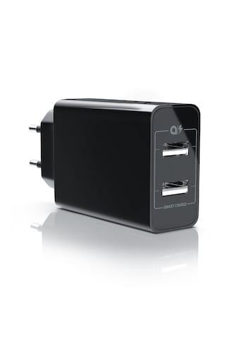 Aplic 2 Port USB Ladegerät mit Smart Charge + Solid Charge kaufen