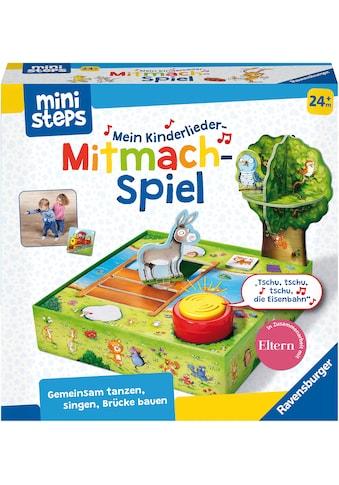 Ravensburger Spiel »ministeps® Kinderlieder-Mitmachspiel«, Made in Europe, FSC® -... kaufen