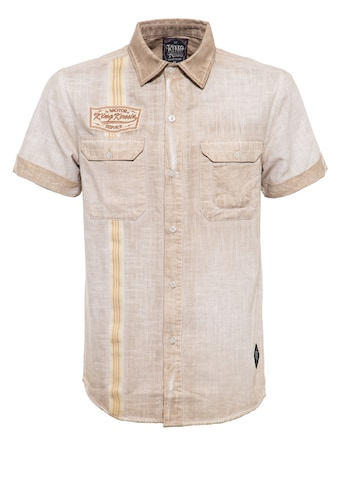 KingKerosin Kurzarmhemd »Motor Service«, im Workwear-Style kaufen