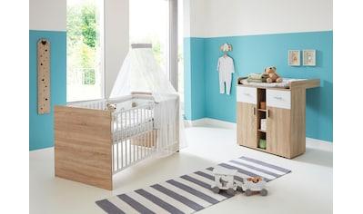 BMG Babymöbel-Set »Maxim«, (Set, 2 tlg.), Bett + Wickelkommode kaufen