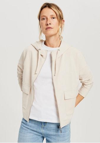 OPUS Kapuzensweatjacke »Guliwa«, mit großen Jackentaschen vorne kaufen