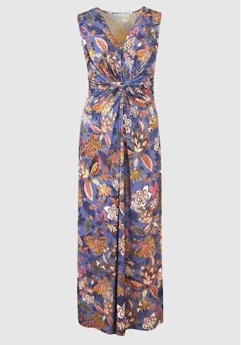 bianca Maxikleid »DINORAH«, im stylischen Blütenmuster und Knotendetail kaufen