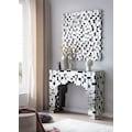 SalesFever Wandspiegel, Mosaikdesign aus Spiegelglasquadraten