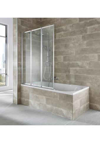 welltime Badewannenaufsatz »Nassau«, silber kaufen