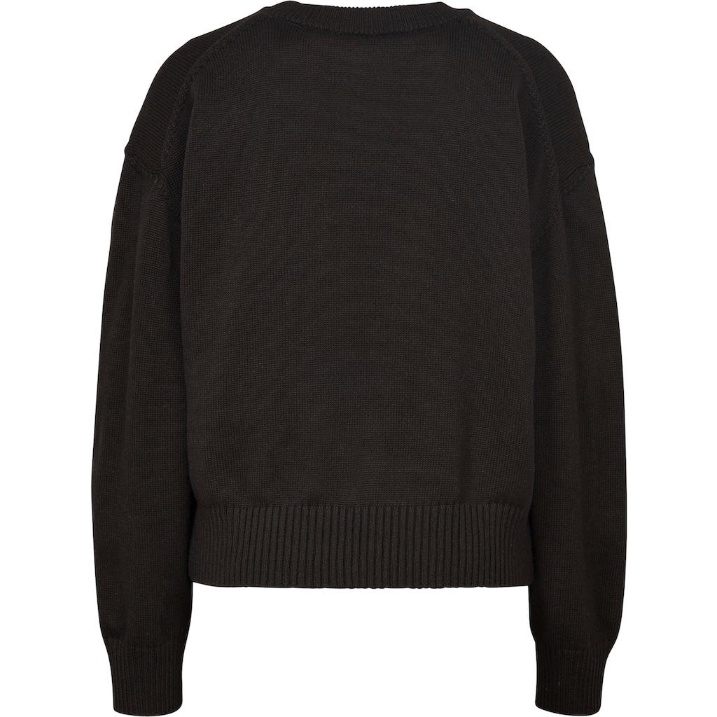 G-Star RAW Sweatshirt »Raw space gr bf r knit«, mit großer Logo-Applikation vorne