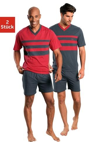 le jogger® Shorty, (2 Stück), mit Colourblocks kaufen