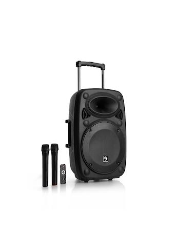 Auna Mobile PA Anlage Bluetooth Lautsprecher Subwoofer Trolley Mikro kaufen