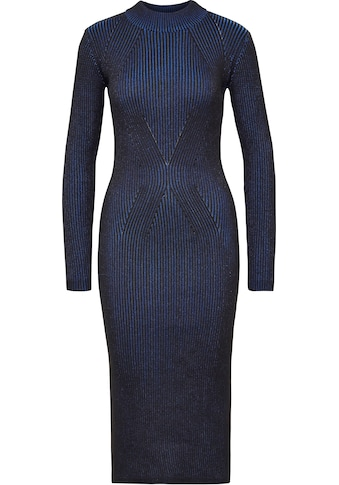 G-Star RAW Strickkleid »Plated Knitted Lynn Mock Slim Kleid«, Ripp-Optik mit Bewegungsfreiheit dank Stretch kaufen