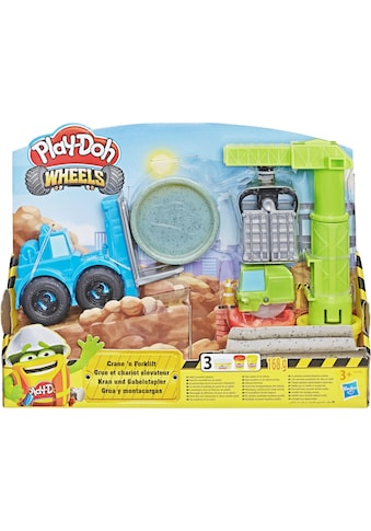 Hasbro Knete »Play-Doh Wheels Kran & Gabelstapler« kaufen