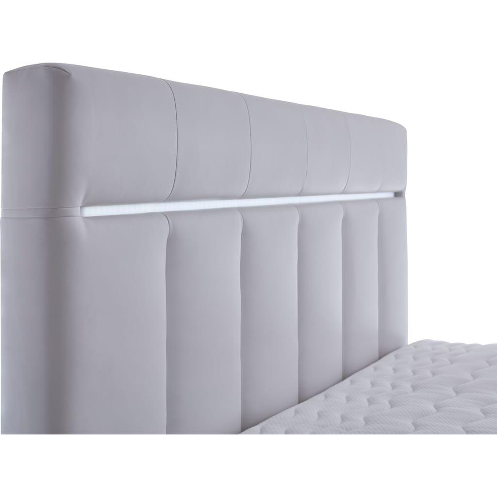ATLANTIC home collection Boxbett, mit LED-Beleuchtung und Bettkasten