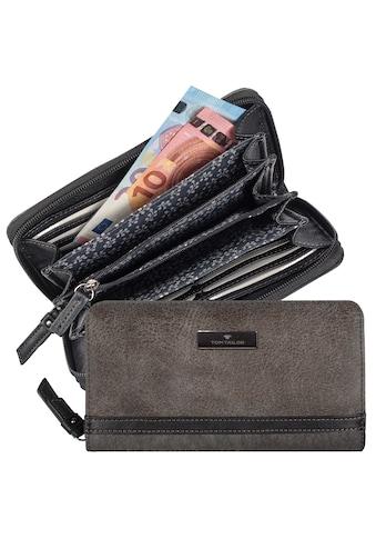 TOM TAILOR Geldbörse »ELIN«, im Farbmix mit Kontrastnähten kaufen