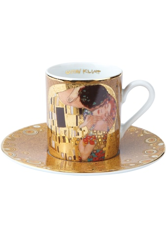 Goebel Espressotasse »Der Kuss«, goldfarben, Höhe ca. 6 cm kaufen
