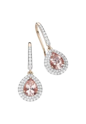 Creazione Bijoux Ohrhänger »750/ -  Roségold mit Morganit und Diamanten« kaufen