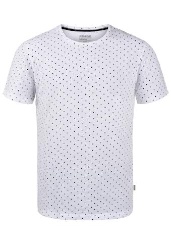 Blend T-Shirt »T-Shirt«, T-Shirt Muster in Rautenoptik (All over Print) kaufen