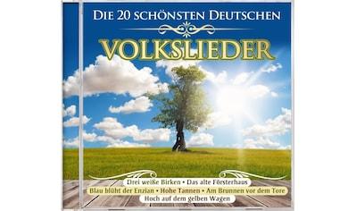 Musik-CD »Die 20 schönsten deutschen Volkslieder / Various« kaufen