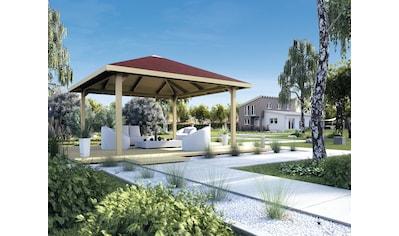 weka Pavillon »Paradies 3«, BxT: 433x433 cm kaufen