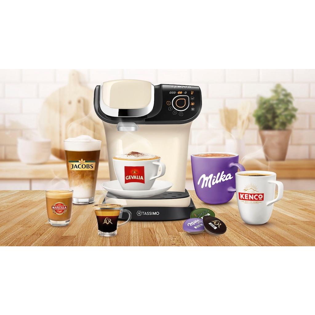 TASSIMO Kapselmaschine »MY WAY 2 TAS6507«, Kaffeemaschine by Bosch, creme, mit Wasserfilter, über 70 Getränke, Personalisierung