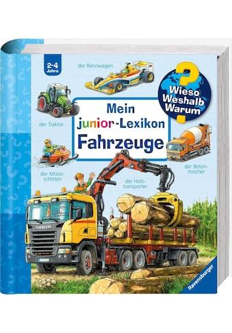 Ravensburger Buch »Mein junior-Lexikon: Fahrzeuge - Wieso? Weshalb? Warum?«, Made in... kaufen