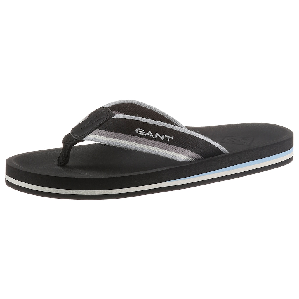 Gant Footwear Zehentrenner »Palmworld«, mit weichem Zehensteg aus Textil
