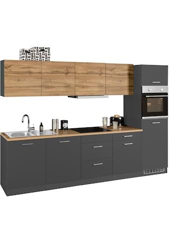 HELD MÖBEL Küchenzeile »Kehl«, mit E-Geräten, Breite 300 cm, wahlweise mit... kaufen