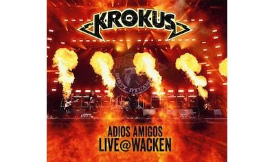 Musik-CD »Adios Amigos Live @ Wacken / Krokus« kaufen