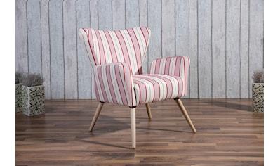 Max Winzer® Sessel »Lodi«, im Retrodesign kaufen