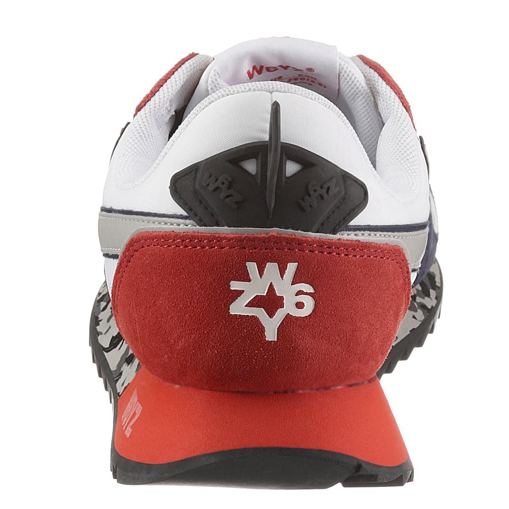 W6YZ Sneaker »JET-M«, mit Kontrastbesatz