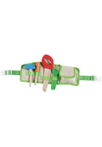 EverEarth® Spielwerkzeug »Werkzeuggürtel«, FSC®-Holz aus gewissenhaft bewirtschafteten... kaufen